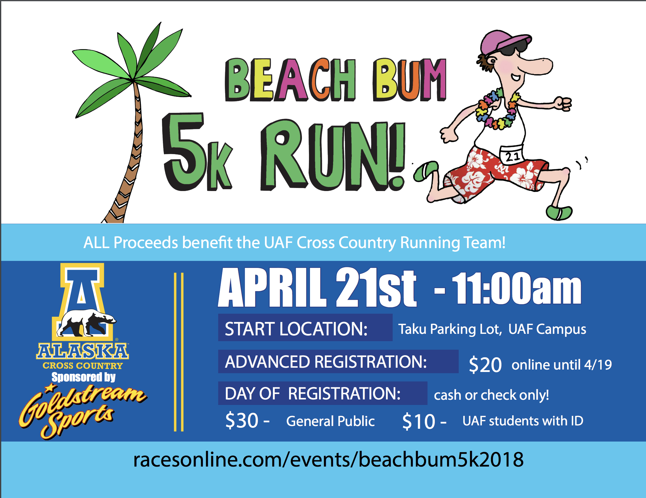 Beach Bum 5K Run