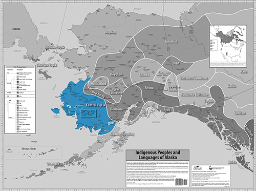 Indigenous Language Map - Central Yup'ik