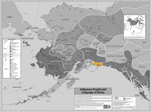 Indigenous Language Map - Eyak