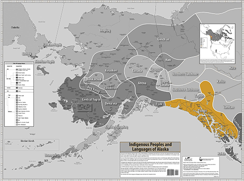 Indigenous Language Map - Tlingit