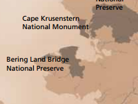 Map showing location of coastal study area: Adpated from NPS
