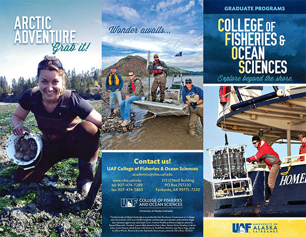 Graduate fisheries brochure
