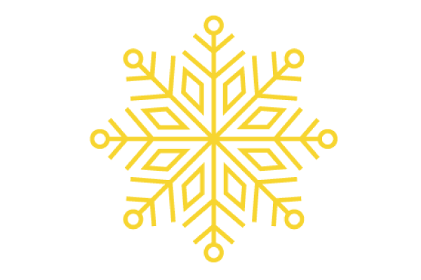 gold snowflake graphic