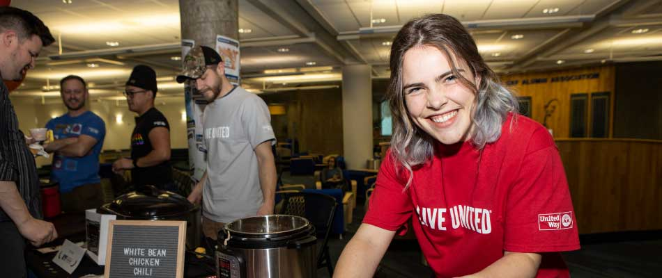 UAF 2019 United Way chili cookoff participants