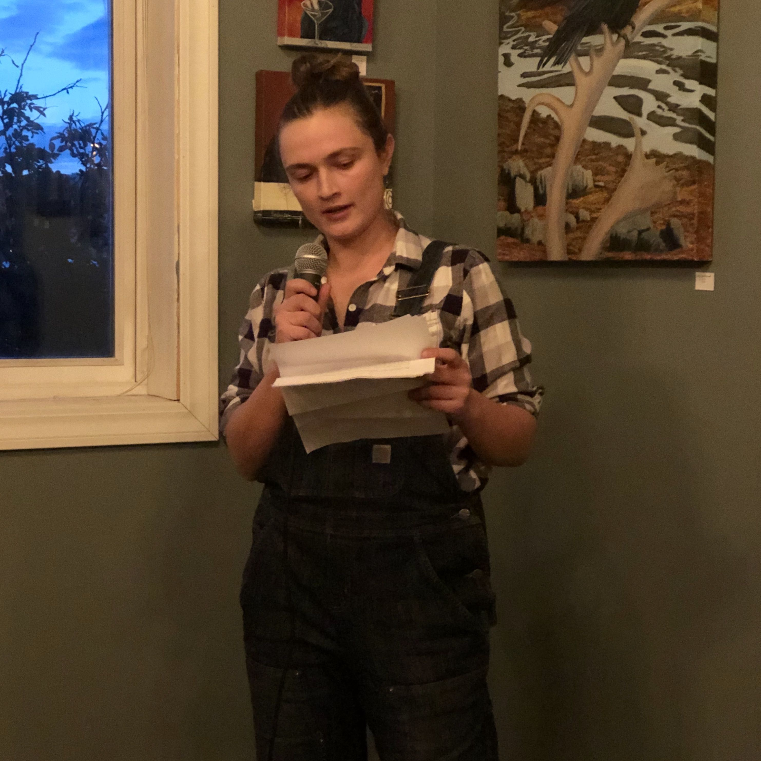 Keely O'Connell reads her nonfiction.