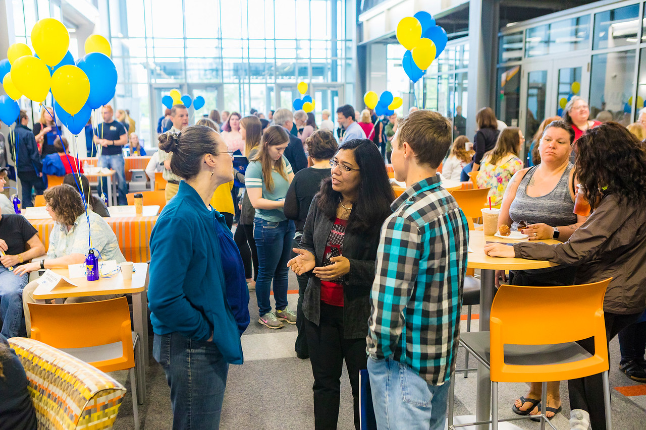 Welcome event at the UAF Engineering Facility