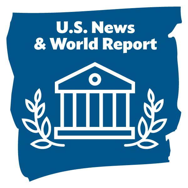 US News and World Report graphic