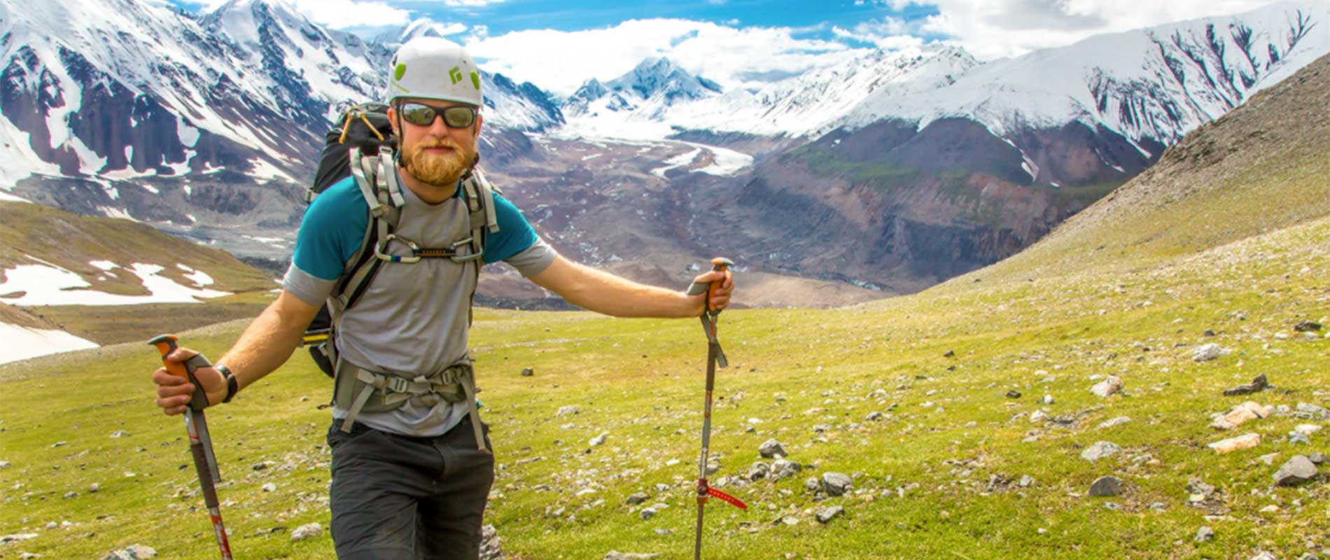 UAF student and faculty member on a backpacking field research expedition in Denali National Park