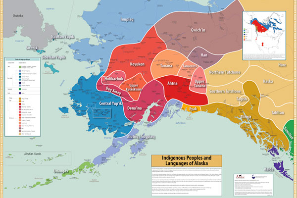 Alaska Native Languags Map