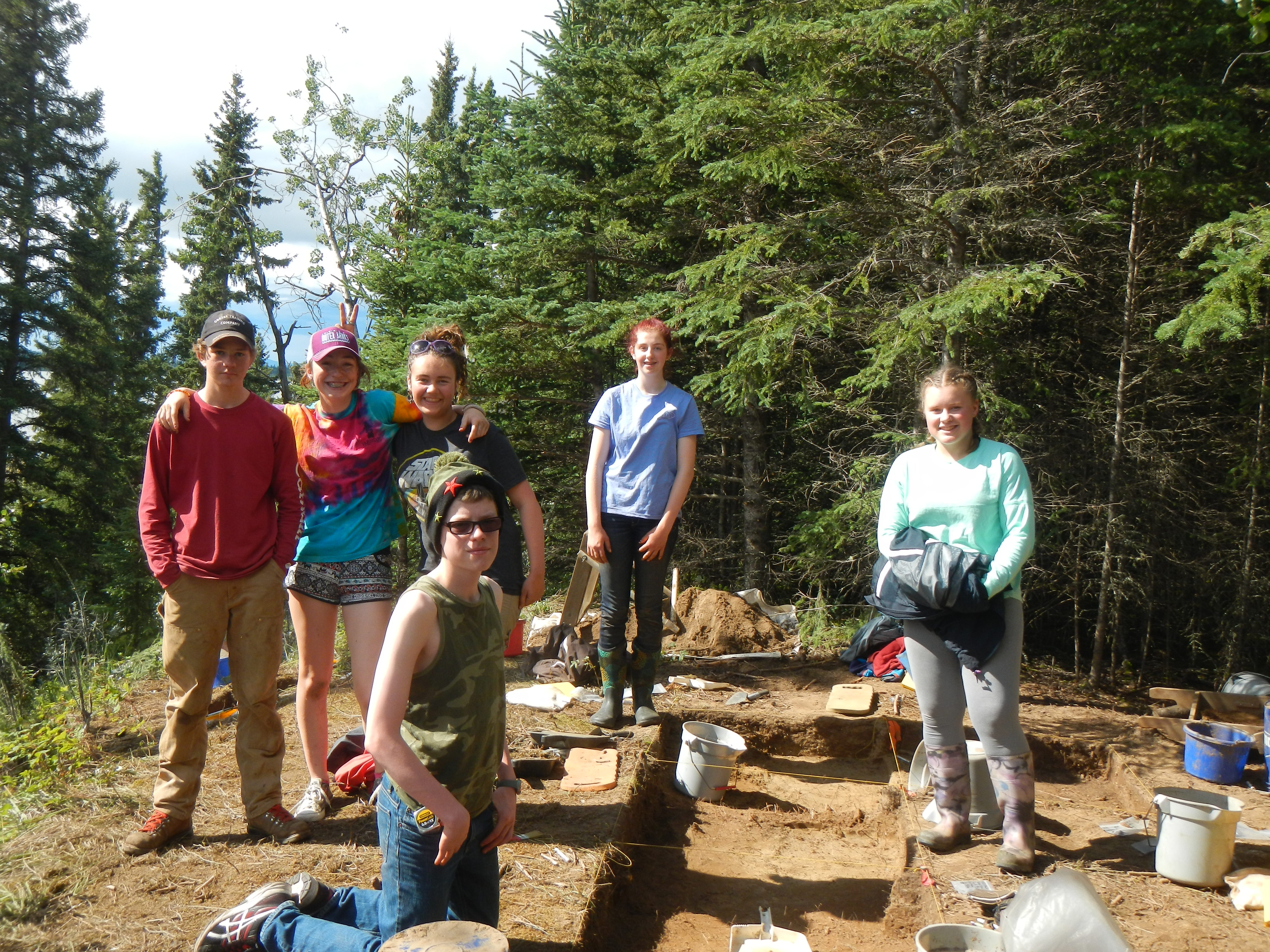 2016 Archaeology ASRA Students