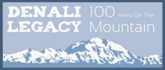 Logo for Denali Legacy exhibit.