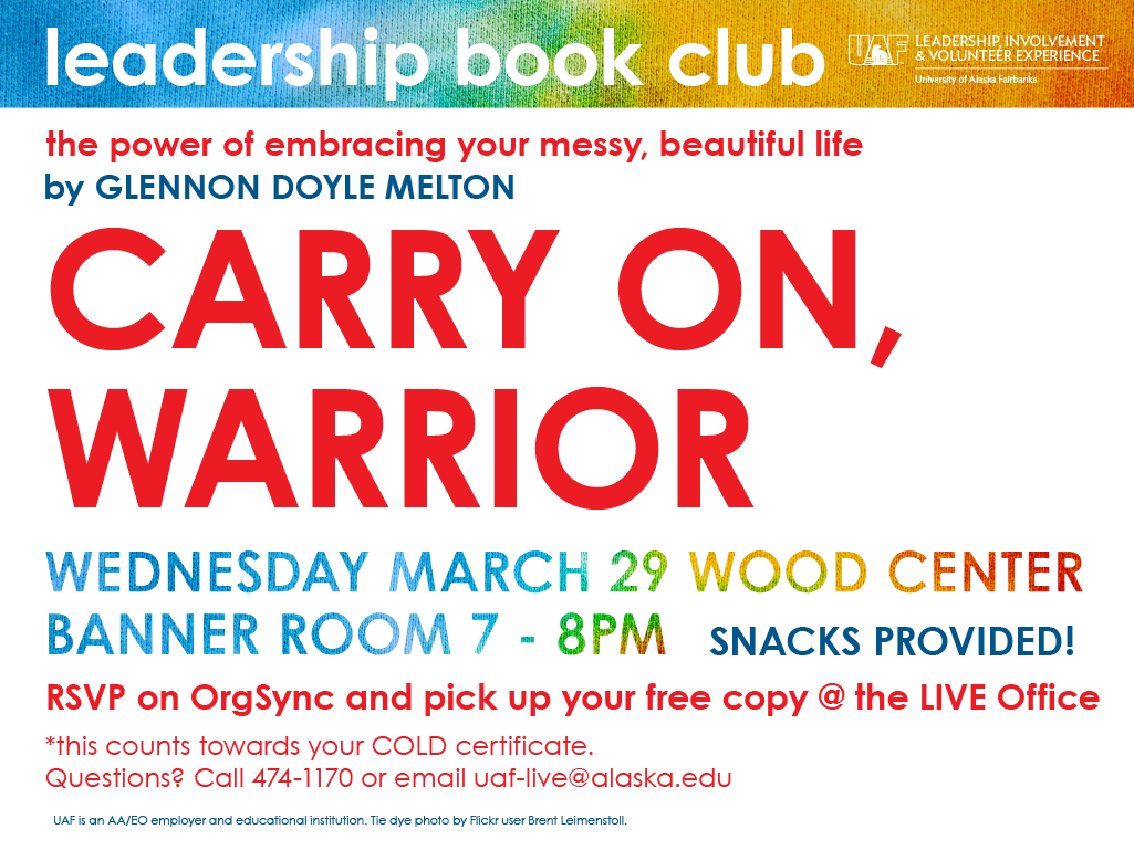Leadership Book Club - Come On, Warrior