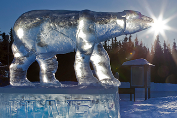 Nanook ice carving