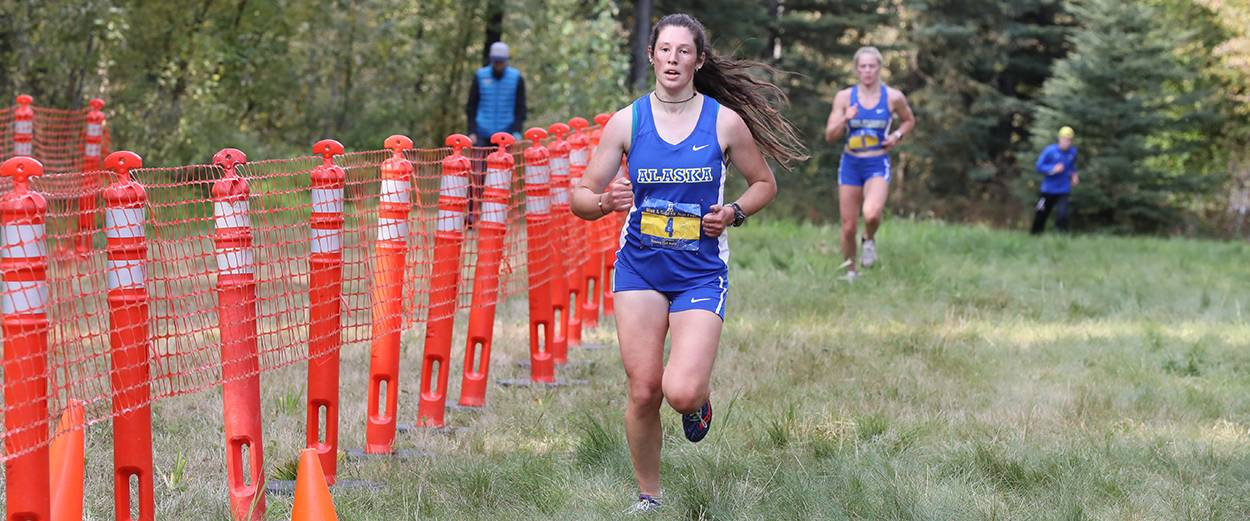 Alaska Nanooks cross country runners