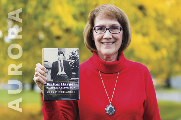 Mary Frank Ehrlander, alumni 92, 93, and retired UAF professor of history, wrote the book, Walter Harper: Alaska Native Son