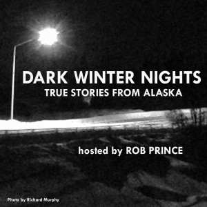 Dark Winter Nights podcast cover graphic