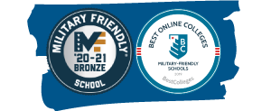 military friendly college recognition badges