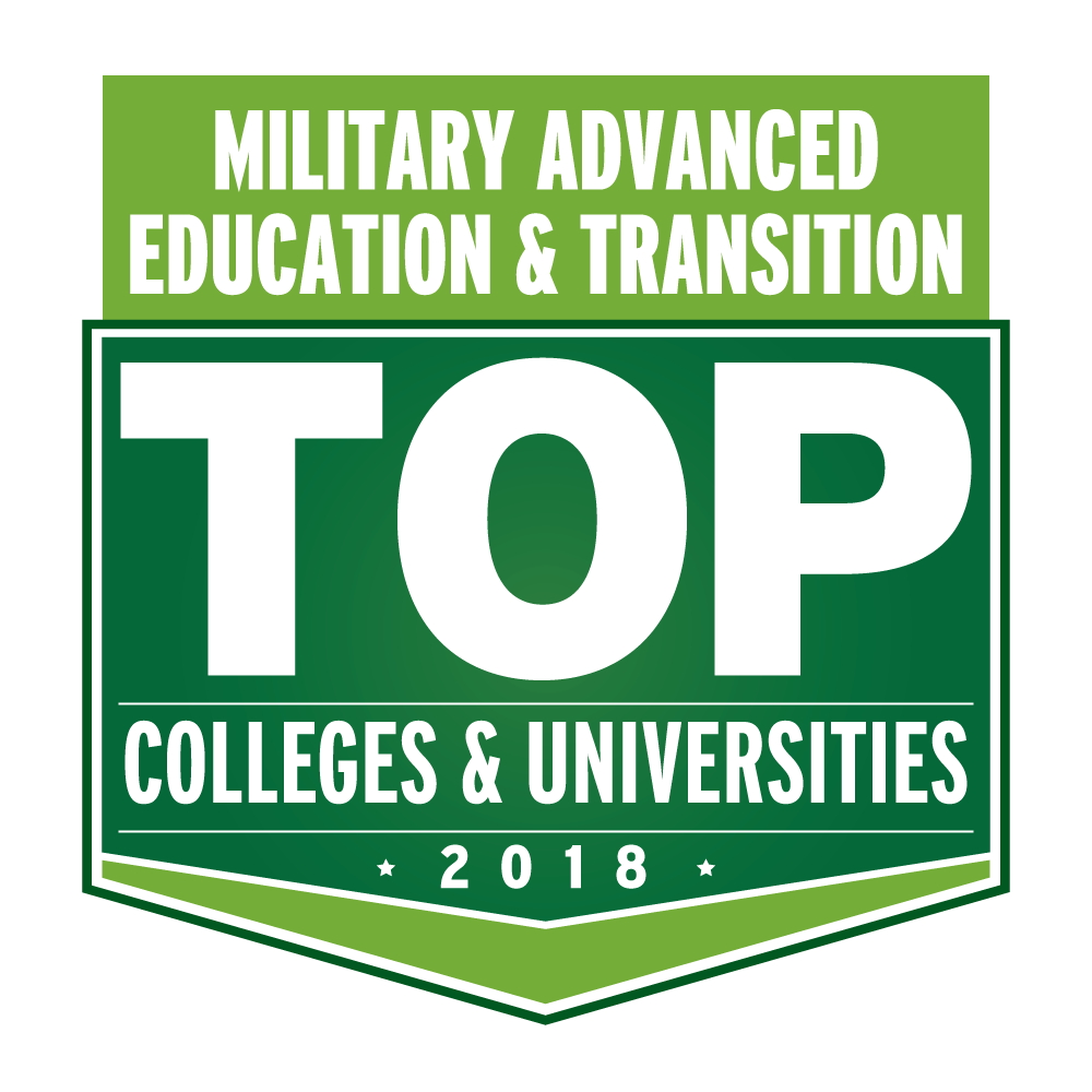 Badge: Military Advanced Education and Transition Top Colleges and Universities 2018