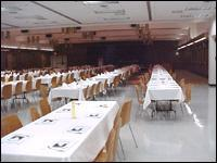 Ballroom and CDEF (largest space available)