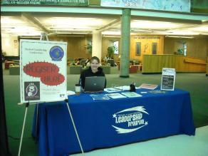 UAF department booth space