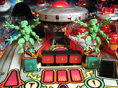 Attack from mars pinball image